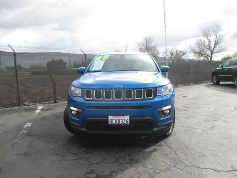 2018 Jeep Compass for sale at Quick Auto Sales in Modesto CA