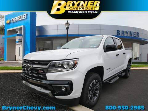 2021 Chevrolet Colorado for sale at BRYNER CHEVROLET in Jenkintown PA
