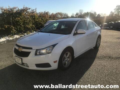 2014 Chevrolet Cruze for sale at Ballard Street Auto in Saugus MA