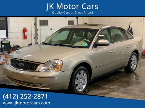 2006 Ford Five Hundred for sale at JK Motor Cars in Pittsburgh PA