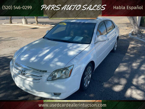 2007 Toyota Avalon for sale at PARS AUTO SALES in Tucson AZ