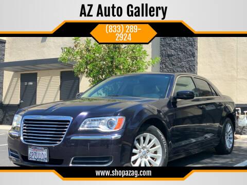 2011 Chrysler 300 for sale at AZ Auto Gallery in Mesa AZ