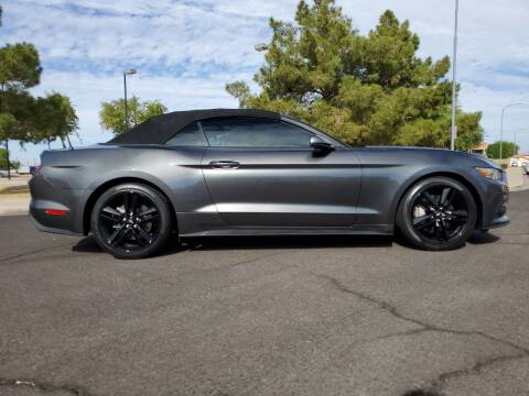 2016 Ford Mustang for sale at AZ WORK TRUCKS AND VANS in Mesa AZ