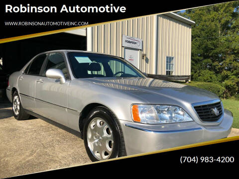 2000 Acura RL for sale at Robinson Automotive in Albermarle NC