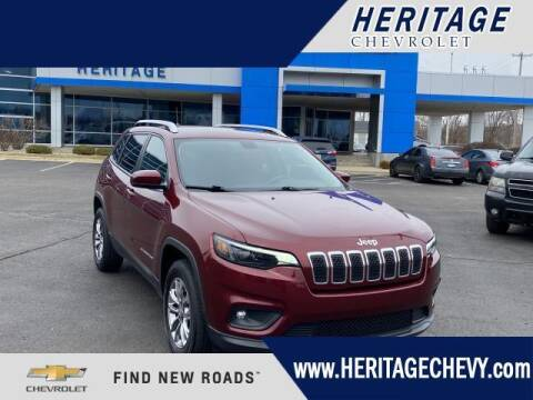 2019 Jeep Cherokee for sale at HERITAGE CHEVROLET INC in Creek MI
