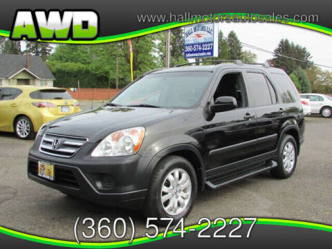 2005 Honda CR-V for sale at Hall Motors LLC in Vancouver WA