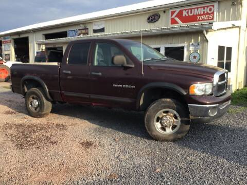 2004 Dodge Ram Pickup 2500 for sale at Troys Auto Sales in Dornsife PA