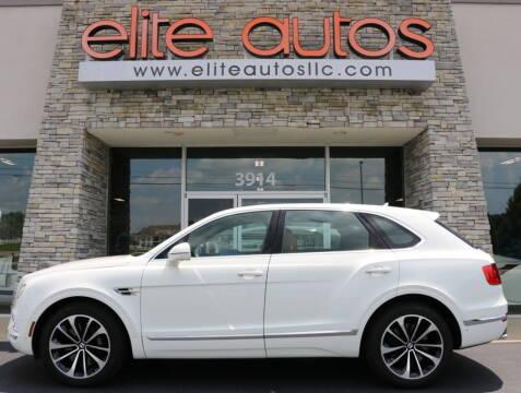 2018 Bentley Bentayga for sale at Elite Autos LLC in Jonesboro AR