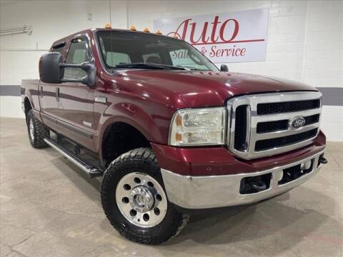 2007 Ford F-250 Super Duty for sale at Auto Sales & Service Wholesale in Indianapolis IN