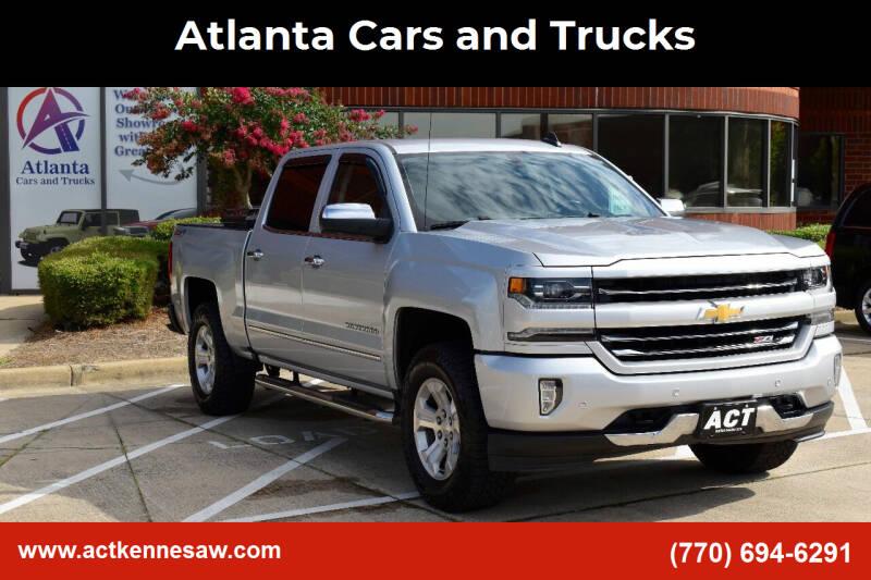 2017 Chevrolet Silverado 1500 for sale at Atlanta Cars and Trucks in Kennesaw GA