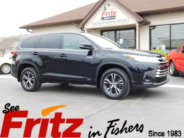 2018 Toyota Highlander Hybrid for sale in Fishers, IN