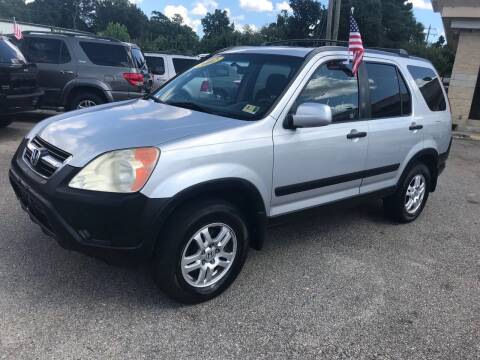 2002 Honda CR-V for sale at Mega Autosports in Chesapeake VA