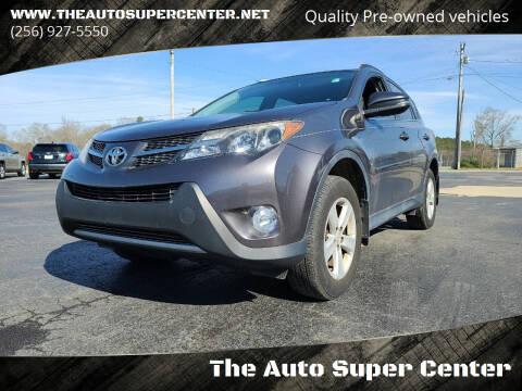 2014 Toyota RAV4 for sale at The Auto Super Center in Centre AL
