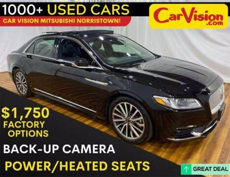 2019 Lincoln Continental for sale at Car Vision Buying Center in Norristown PA