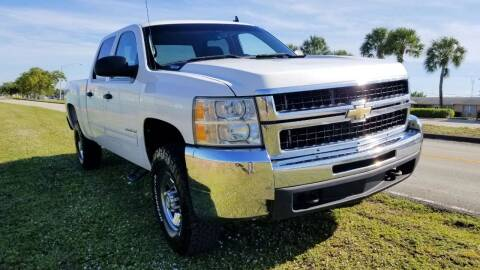 2010 Chevrolet Silverado 2500HD for sale at M.D.V. INTERNATIONAL AUTO CORP in Fort Lauderdale FL