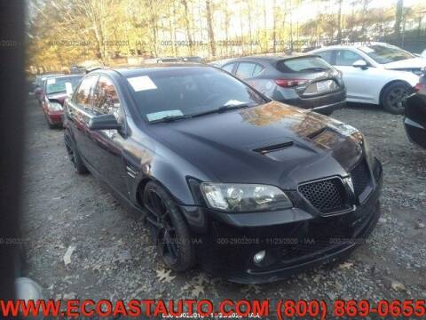 2008 Pontiac G8 for sale at East Coast Auto Source Inc. in Bedford VA