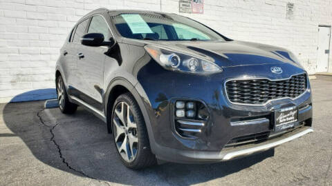 2017 Kia Sportage for sale at ADVANTAGE AUTO SALES INC in Bell CA