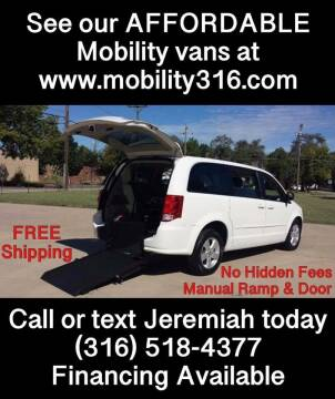 2013 Dodge Grand Caravan for sale at Affordable Mobility Solutions, LLC - Mobility/Wheelchair Accessible Inventory-Wichita in Wichita KS