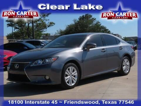 2014 Lexus ES 350 for sale at Ron Carter  Clear Lake Used Cars in Houston TX