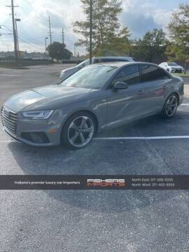 2019 Audi A4 for sale at Fishers Imports in Fishers IN