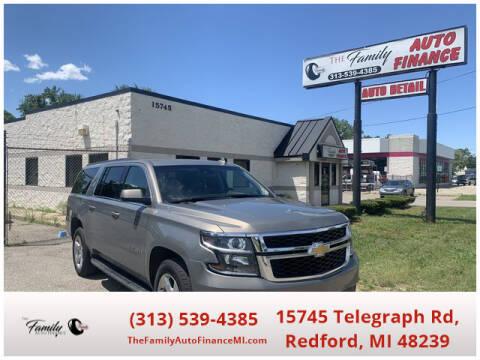 2017 Chevrolet Suburban for sale at The Family Auto Finance in Redford MI