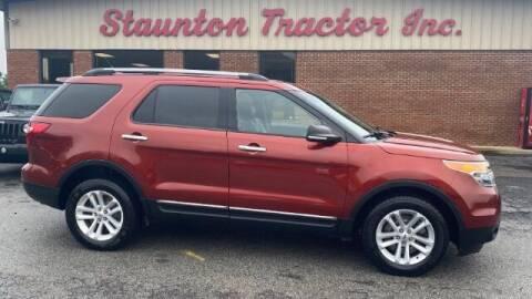 2014 Ford Explorer for sale at STAUNTON TRACTOR INC in Staunton VA