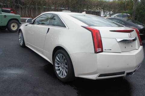 2012 Cadillac CTS for sale at Dream Machines USA in Lantana FL
