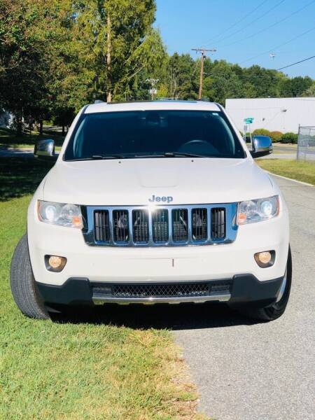 2012 Jeep Grand Cherokee for sale at Speed Auto Mall in Greensboro NC