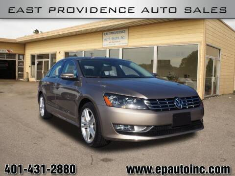 2015 Volkswagen Passat for sale at East Providence Auto Sales in East Providence RI