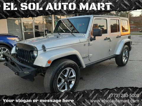 2008 Jeep Wrangler Unlimited for sale at EL SOL AUTO MART in Franklin Park IL