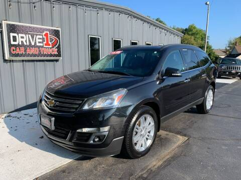 2014 Chevrolet Traverse for sale at Drive 1 Car & Truck in Springfield OH