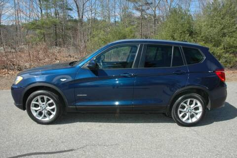 2014 BMW X3 for sale at Bruce H Richardson Auto Sales in Windham NH