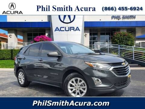 2019 Chevrolet Equinox for sale at PHIL SMITH AUTOMOTIVE GROUP - Phil Smith Acura in Pompano Beach FL
