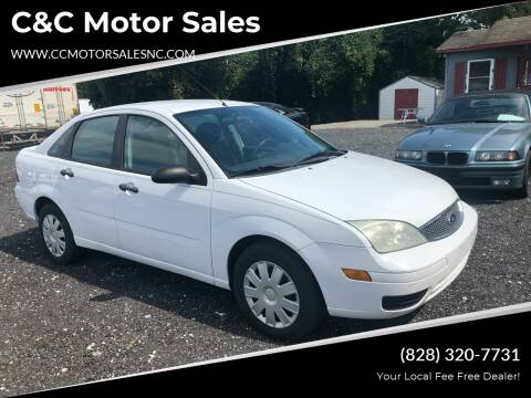 2007 Ford Focus for sale at C&C Motor Sales LLC in Hudson NC