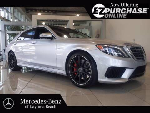 2015 Mercedes-Benz S-Class for sale at Mercedes-Benz of Daytona Beach in Daytona Beach FL