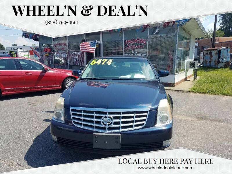 2006 Cadillac DTS for sale at Wheel'n & Deal'n in Lenoir NC