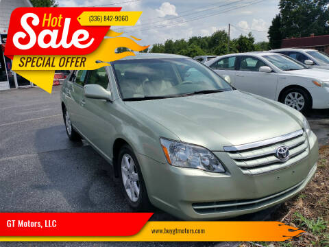 2006 Toyota Avalon for sale at GT Motors, LLC in Elkin NC
