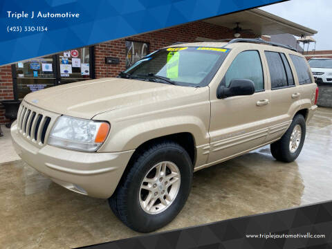 1999 Jeep Grand Cherokee for sale at Triple J Automotive in Erwin TN