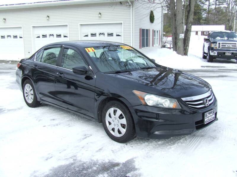 2011 Honda Accord for sale at DUVAL AUTO SALES in Turner ME