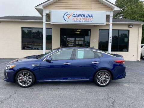 2018 Kia Optima for sale at Carolina Auto Credit in Youngsville NC