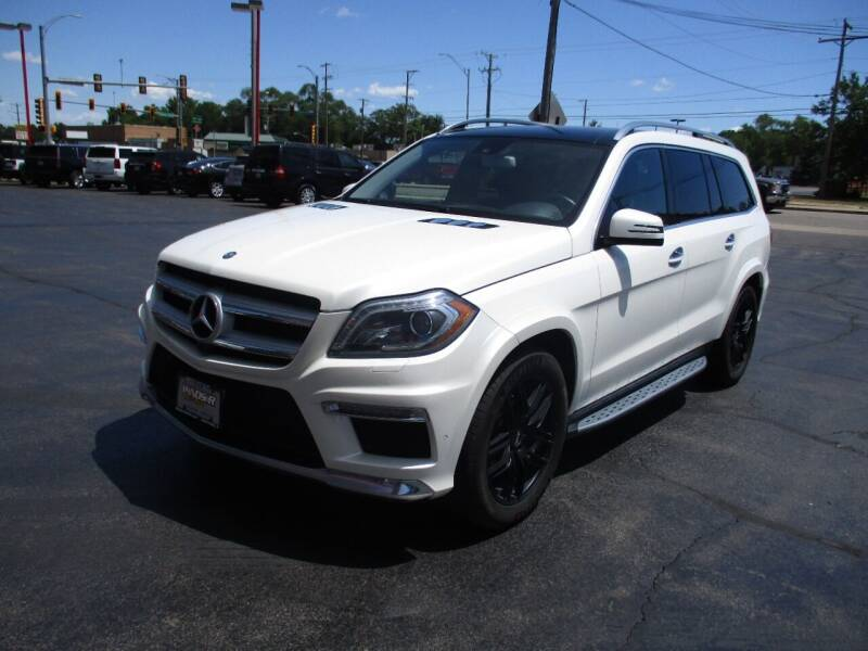2015 Mercedes-Benz GL-Class for sale at Windsor Auto Sales in Loves Park IL