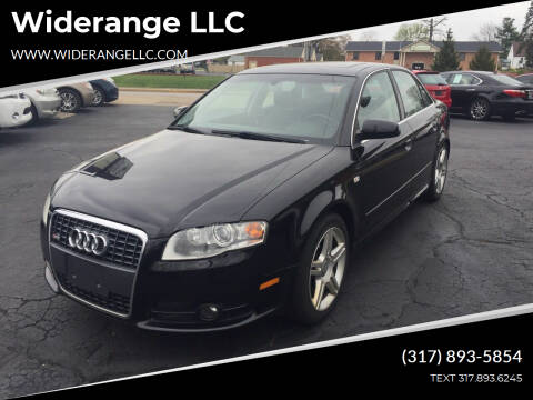 2008 Audi A4 for sale at Widerange LLC in Greenwood IN