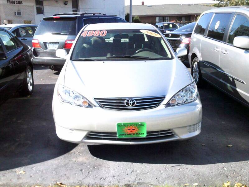 2005 Toyota Camry for sale at JIMS AUTO MART INC in Milwaukee WI