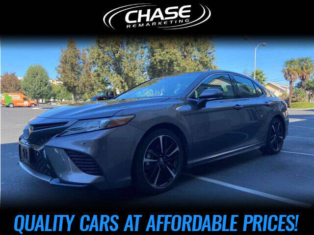 2018 Toyota Camry for sale at Chase Remarketing in Fremont CA