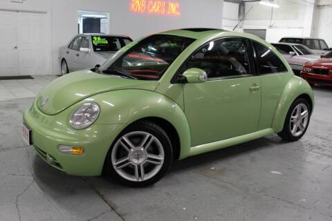 2004 Volkswagen New Beetle for sale at R n B Cars Inc. in Denver CO