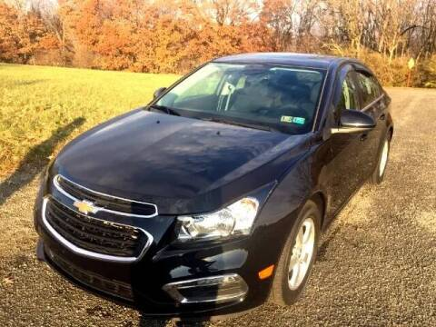 2015 Chevrolet Cruze for sale at Hutchys Auto Sales & Service in Loyalhanna PA