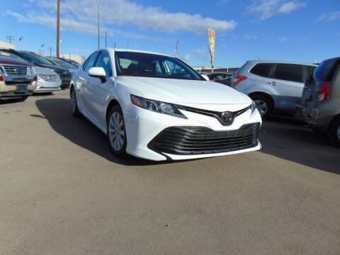 2019 Toyota Camry for sale at Avalanche Auto Sales in Denver CO