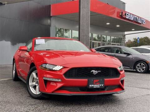 2019 Ford Mustang for sale at Gravity Autos Roswell in Roswell GA