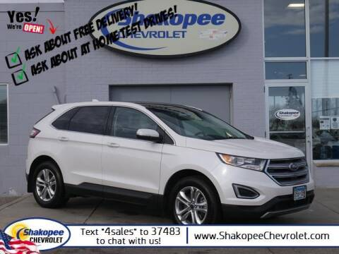 2017 Ford Edge for sale at SHAKOPEE CHEVROLET in Shakopee MN
