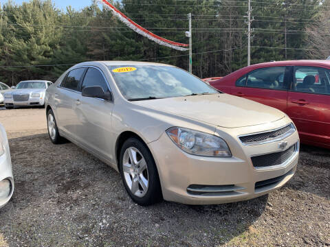 2012 Chevrolet Malibu for sale at CARS R US in Caro MI